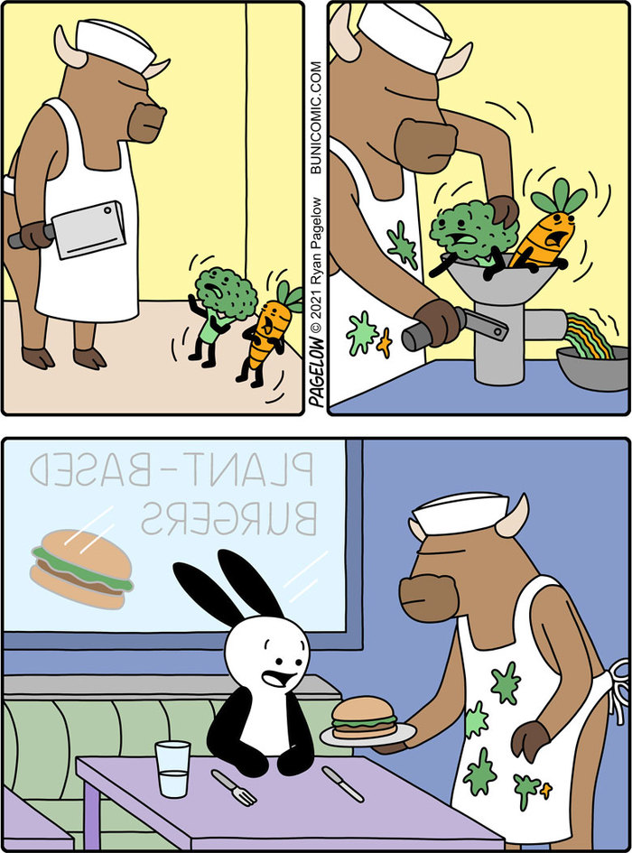 Правда о вегетарианской еде