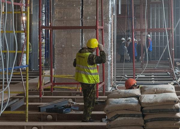 Реконструкция Политехнического музея продолжается Политехнический музей, Москва, Реконструкция, История, Строительство, Гифка, Длиннопост