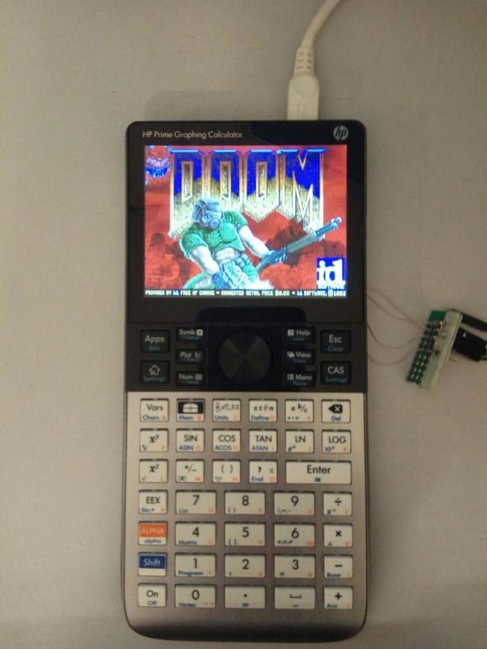 Запускаем DOOM на калькуляторе HP Prime G2
