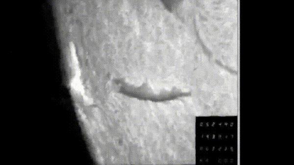 Гигантская ударная волна на Солнце от взрыва во время вспышки