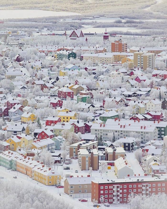 Кируна самый северный город Швеции
