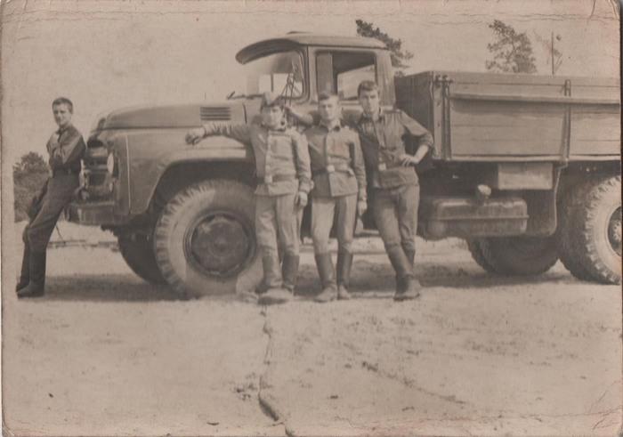 Полевые будни солдат Советской армии