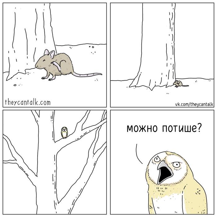 Раздражительная сова