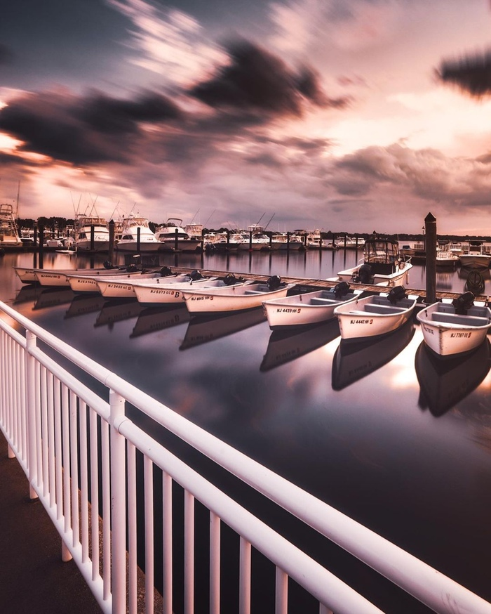 Пристань в Белмаре, Нью-Джерси