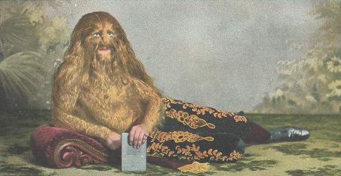 Русский мальчик-дикарь (говорящий на трёх языках), семья людей-обезьян, человек-лев и легенда о пёсьеглавцах История, Интересное, Познавательно, Люди, Цирк, Бородатая женщина, Видео, Длиннопост, Гипертрихоз