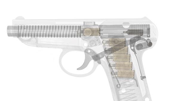 Оружие за выходные: пистолет Франца Йегера Оружие, Пистолеты, История, Германия, Первая мировая война, Гифка, Длиннопост