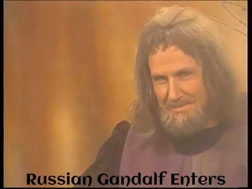 Советский Гэндальф входит в чат Гэндальф, Властелин колец, Гифка