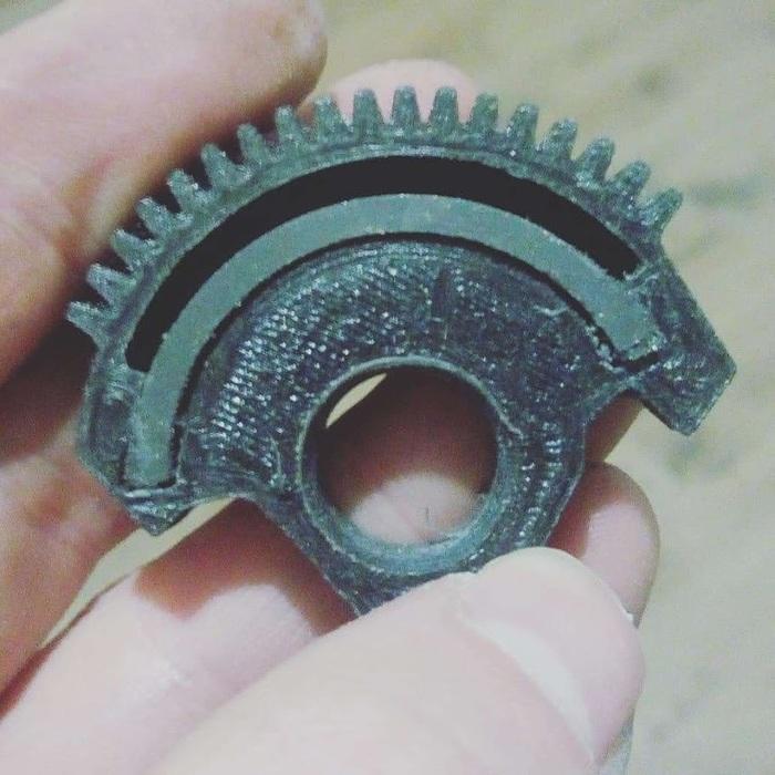 Починил механизм дросселя от IVECO 3D печать, 3D моделирование, Дроссельная заслонка, Iveco, Авто, Ремонт, Видео, Длиннопост