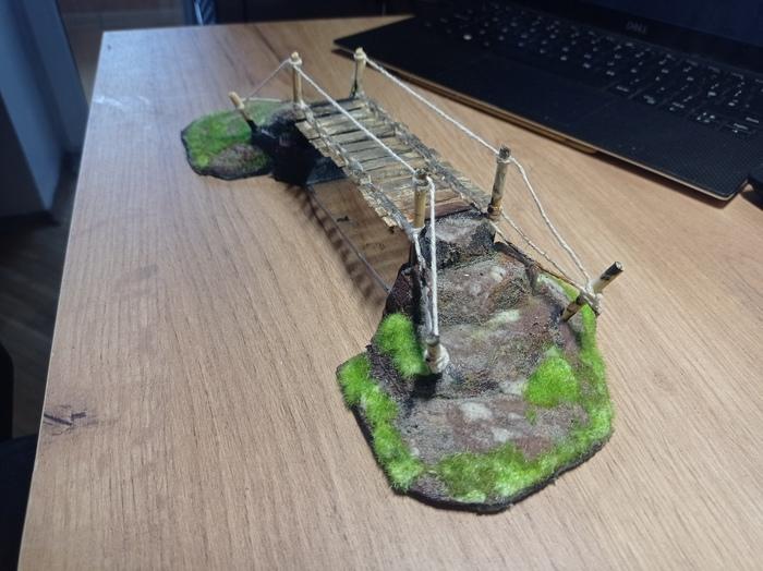 Просто подвесной мостик