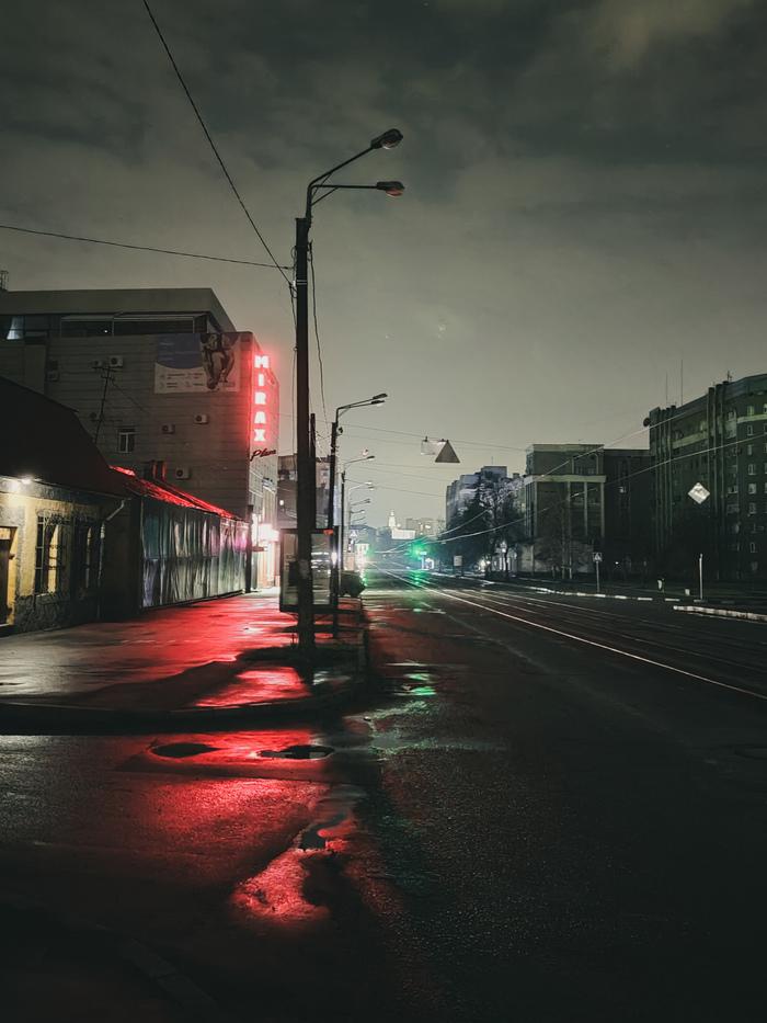 Немножко пустой ночной улицы