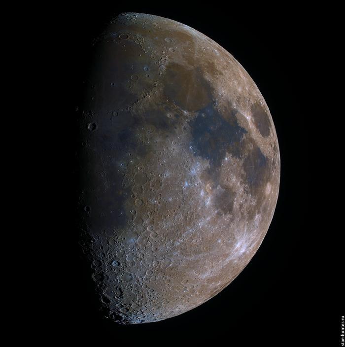 Цветная Луна, 21 апреля 2021 года, 19:48 Луна, Астрофото, Астрономия, Космос, Starhunter, Анапа, Анападвор, Видео