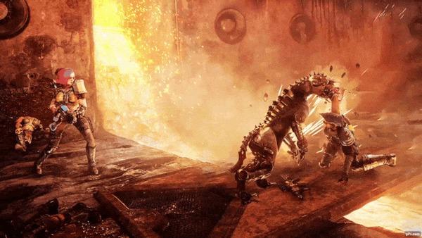 Что за Necromunda и каким будет Hired Gun Komaruka, Necromunda, Warhammer 40k, Видео, Гифка, Длиннопост