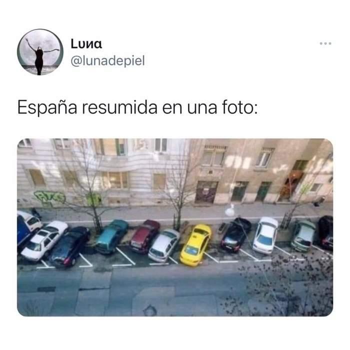 Испанцы шутят вся Испания в одной фотографии