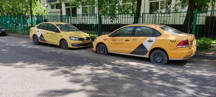 Заброшенные такси от Яндекса Такси, Загадка, Яндекс, Авто, Москва