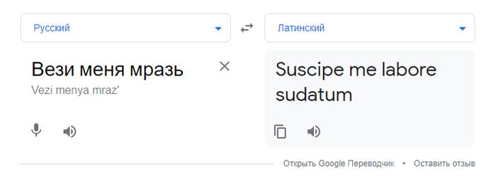 Гугл переводчик шутит