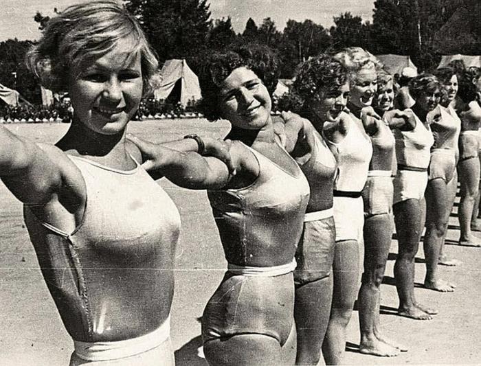 Люди из другого мира: как выглядели юноши и девушки в нашей стране в 20-30-е годы СССР, Спорт, Молодежь, Цель жизни, Длиннопост