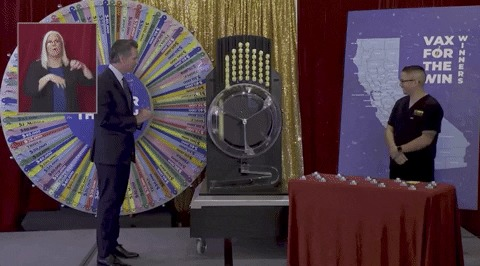 Вот все, что вы можете выиграть, если сделаете прививку. USA Вакцинация, Коронавирус, США, Лотерея, Стимул, Юмор, Гифка, Длиннопост