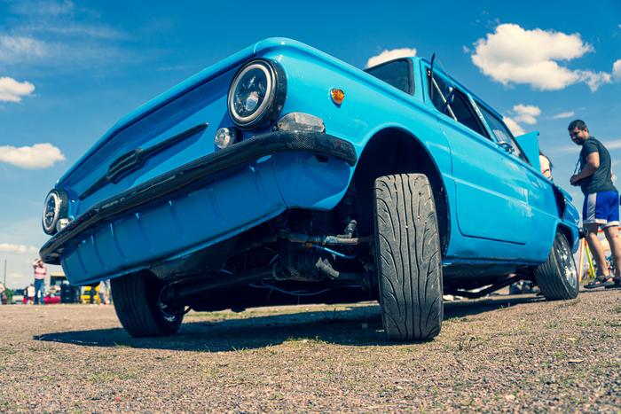 Автомобили на Roadside Picnicfest