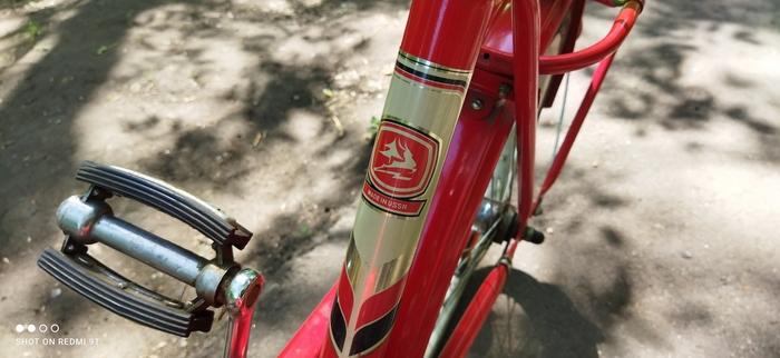 Велосипед Кама советского производства 1988 года