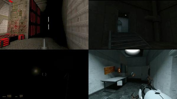 Я 11 лет считаю спички у вас в коробках Half-Life, Half-Life 2, Half-Life: Alyx, Source, Quake, Игры, Valve, Doom, Гифка, Portal