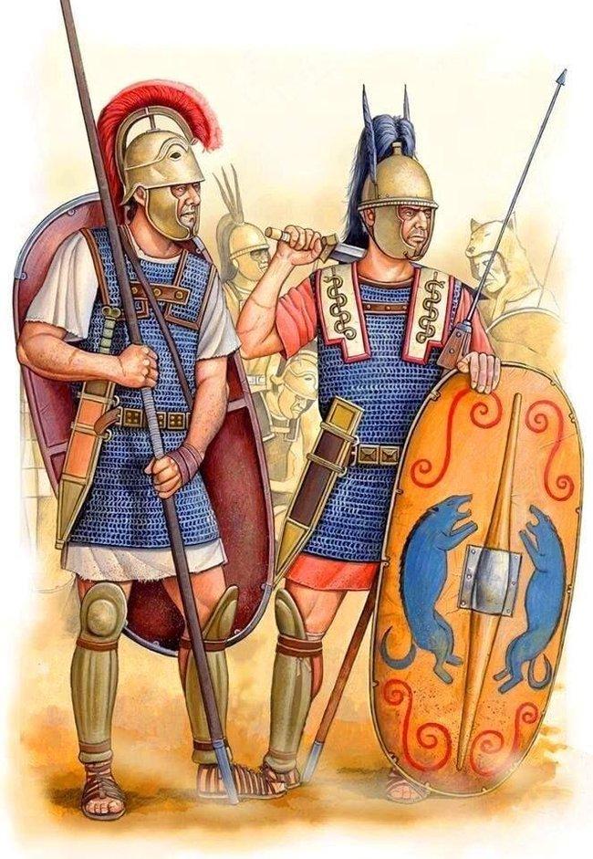 Суровые Римские парни на пенсии