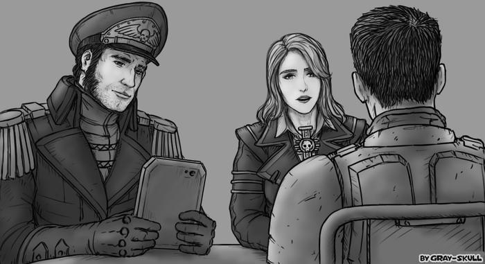 QuotНе волнуйся, гвардеец. У нас к тебе всего пара вопросов.quot (by Gray-Skull)
