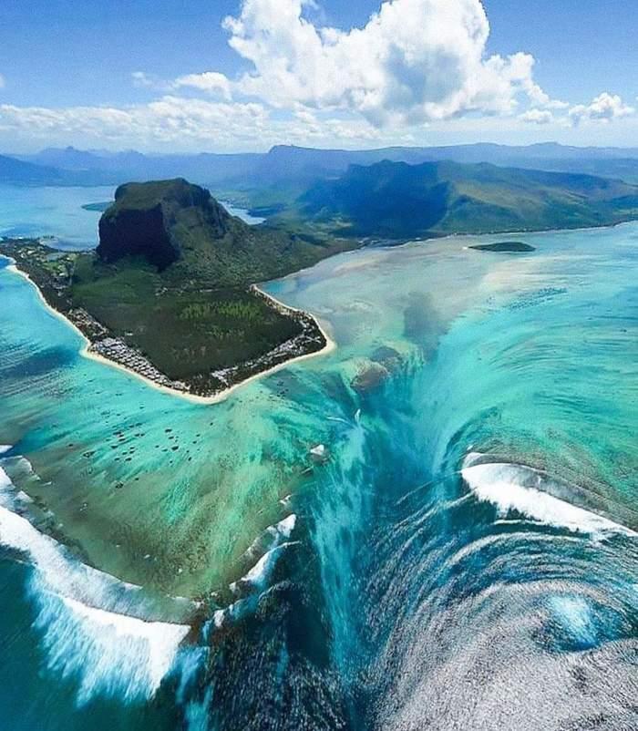 Подводные водопады