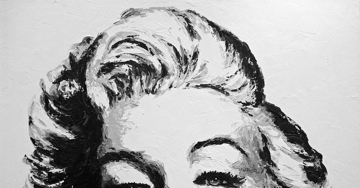 "Мэрилин Монро на артах (XVI) Цикл ""Великолепная Мэрилин"" 507 выпуск"