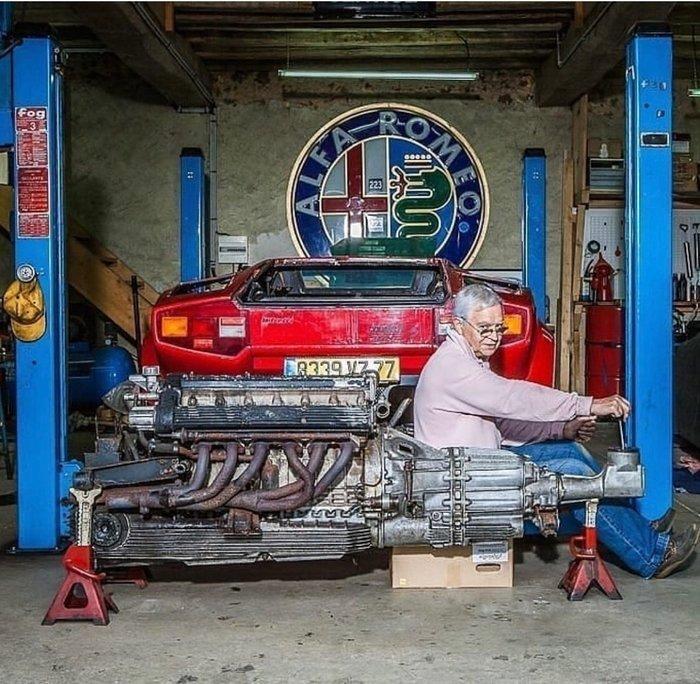 Простая механика старых суперкаров Авто, Автомобильная классика, Механизм, Двигатель, Коробка передач, Сравнение