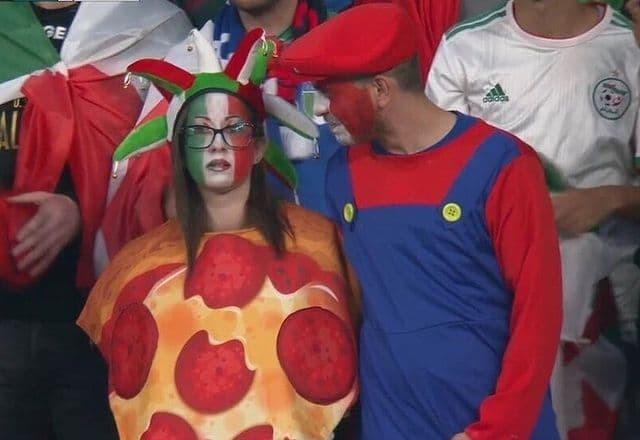 Когда ролевые игры зашли слишком далеко Футбол, Болельщики, Евро 2020, Пицца, Марио, Сборная Италии