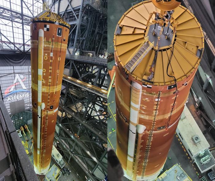 Ракета-носитель SLS И швец, и жнец, и на дуде игрец