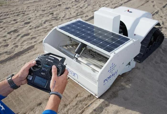 Робот очищает пляжи от мелкого пластика Экология, Переработка мусора, Пластик, Переработка, Робот, Длиннопост