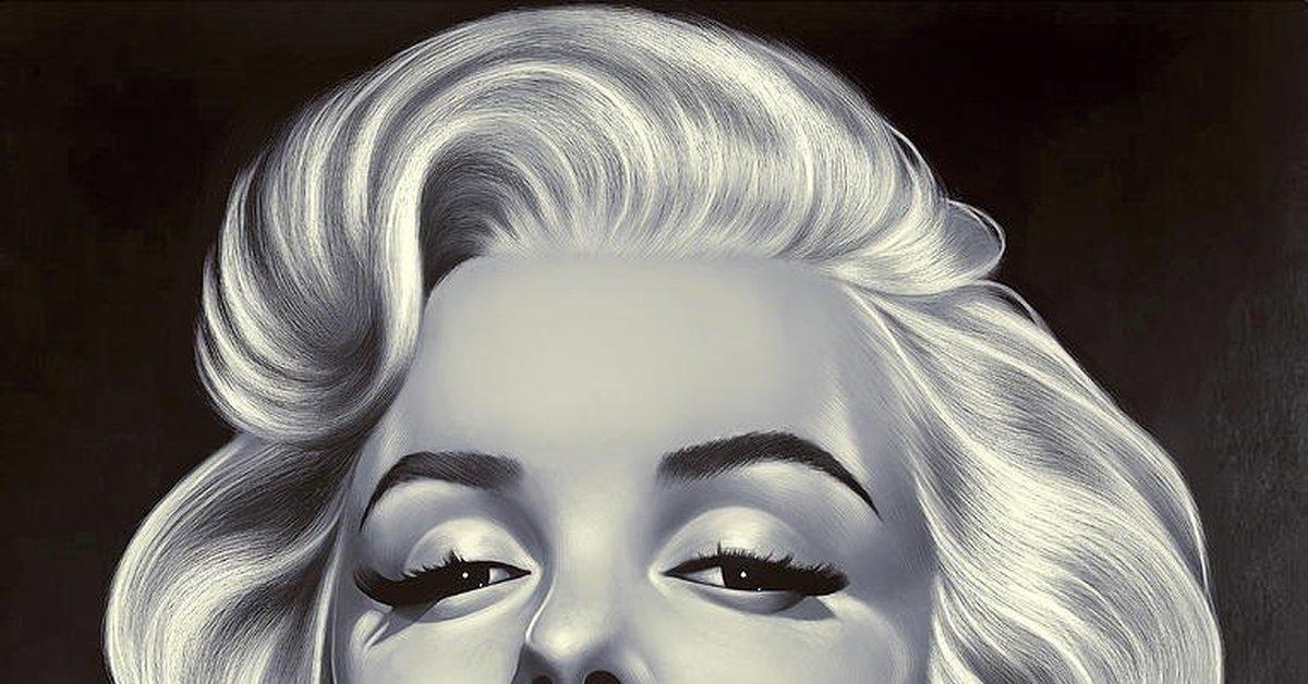 "Мэрилин Монро на артах (XVII) Цикл ""Великолепная Мэрилин"" 516 выпуск"