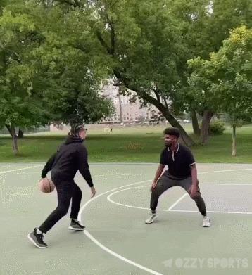 Читер Спорт, Баскетбол, Стритбол, Финт, Читер, Гифка