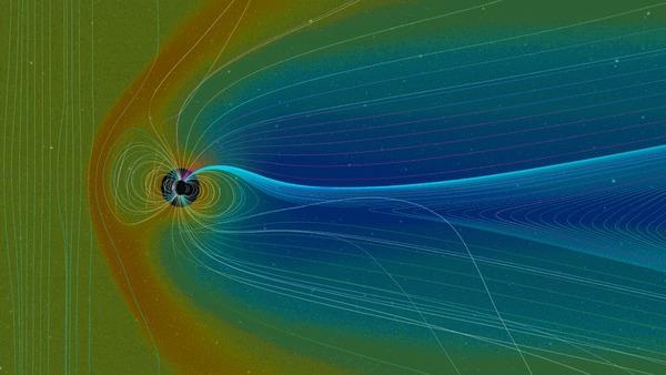 Опасна ли космическая радиация на полярной орбите? Роскосмос, Радиация, Космонавтика, Космическая станция, Гифка, Видео, Длиннопост