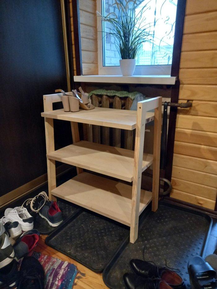 Этажерка для обуви Полка, Столярка, Своими руками, Мебель, Рукоделие с процессом, Длиннопост