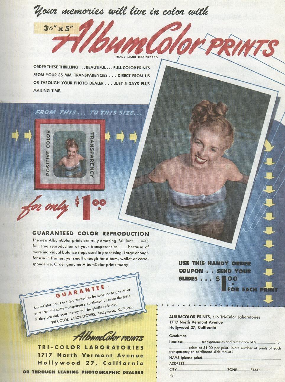 """Мэрилин Монро в рекламе (VIII) Цикл """"Великолепная Мэрилин"""" 578 серия"""