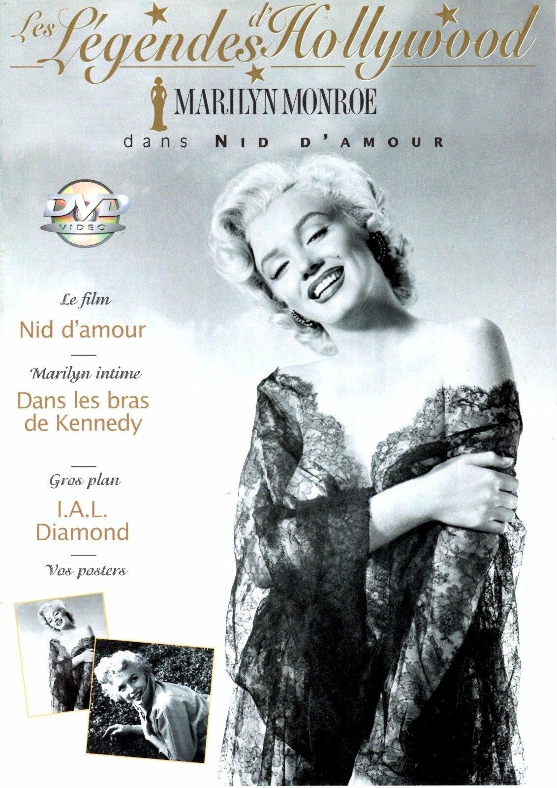 """Мэрилин Монро на обложках журналов / DVD  (XXIII) Цикл """"Великолепная Мэрилин"""" 592 выпуск"""