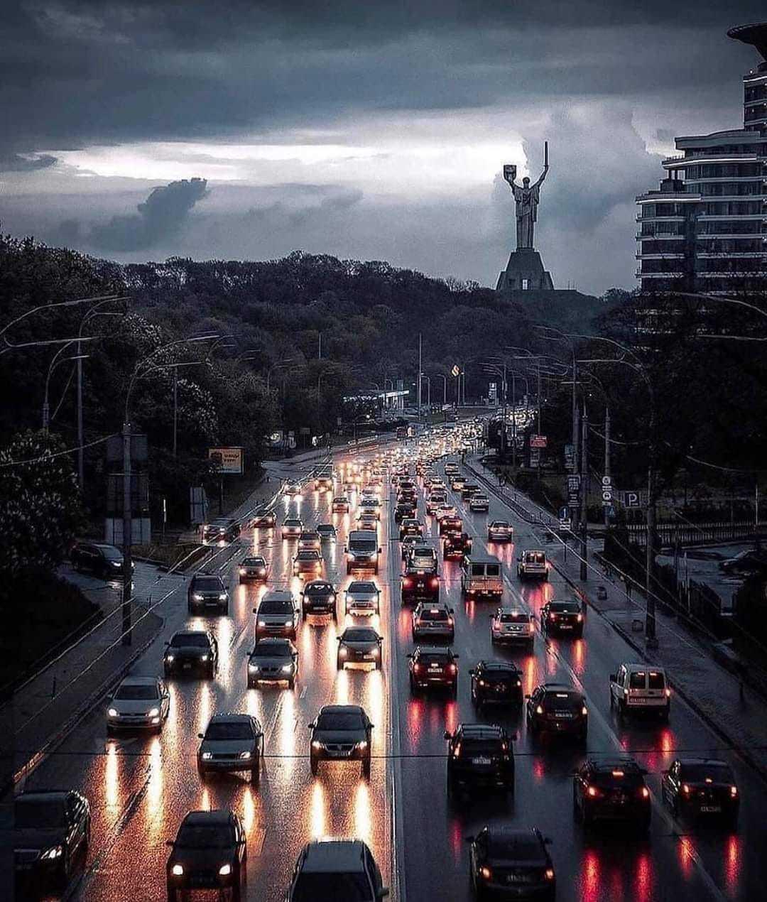 Немного вечернего Киева